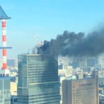 新橋で火災した場所がホテルの隣!原因と被害者人数は?