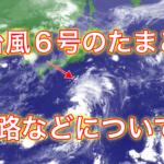 【2019年】台風6号の進路は?米軍と気象庁の情報から予想!