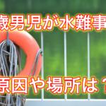 【高知市】3歳男児が溺れた場所はどこ?原因はなに?父親へのネットの反応も!