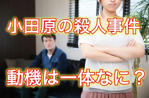 【神奈川県・小田原】鳴海拓也容疑者の顔画像は?犯行動機がヤバイ!