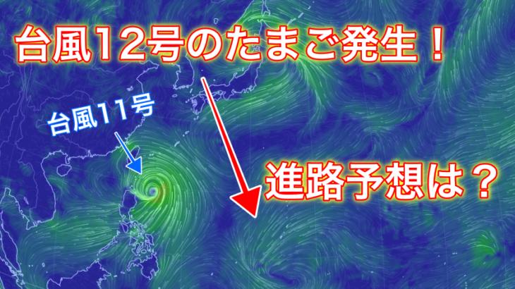 【2019】台風12号のたまごの進路予想は?米軍と気象庁の情報からご紹介!