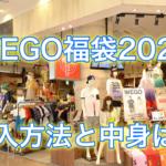 WEGO福袋2020の発売日とネット予約開始日は?値段や中身についても紹介!